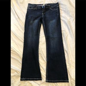 MAURICES Size 17/18 LONG BOOT CUT JEANS